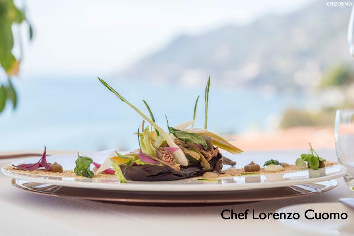 ristorante mare costiera amalfitana piatto forte melanzane