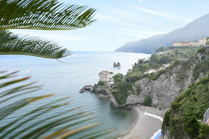 ristoranti sul mare costiera amalfitana vista