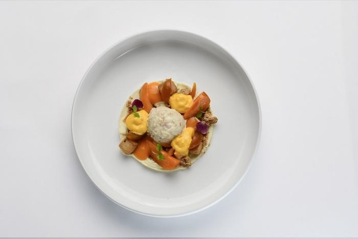 ristorante gourmet esempio piatto