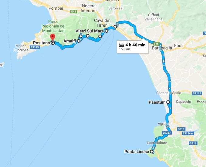 gulf of salerno what to visit