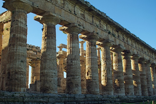 gulf of salerno: paestum