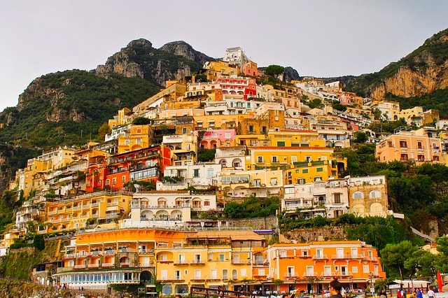 gulf of salerno: positano