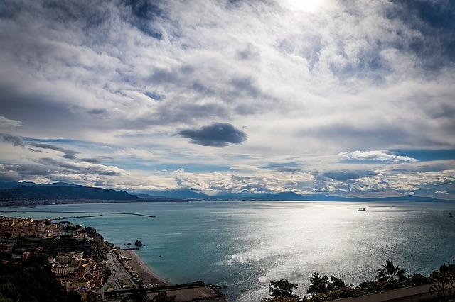 gulf of salerno: vietri sul mare