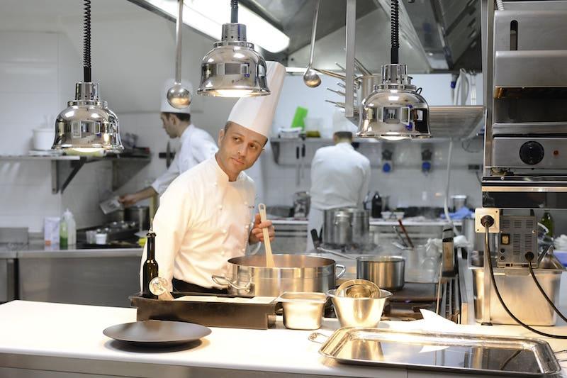 ristorante cucina a vista