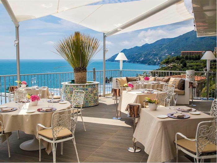 roof restaurant amalfi coast