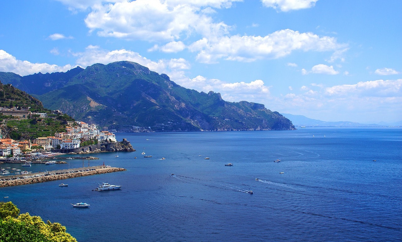 Best restaurants on Amalfi coast: Re Maurì (Vietri sul Mare)
