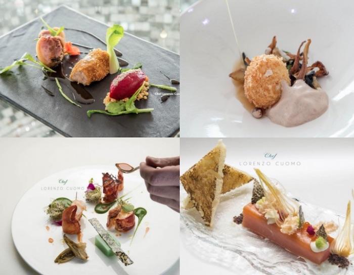 selezione piatti ristoranti romantici costiera amalfitana